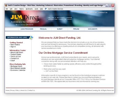 One of over a dozen Private Labeled versions of the WMC Direct website. This one was for JLM Direct.