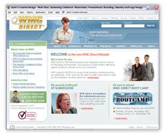Commercial template version of the same WMC Direct site